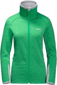 Jack Wolfskin Skyland Jacket Frauen Gr. XS - Fleecejacke - grün