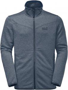 Jack Wolfskin Tongari Jacket Männer Gr. XXL - Fleecejacke - grau|blau