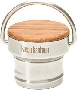 Klean Kanteen Bambus Deckel für Classic Flaschen - Trinkflasche - beige-sand