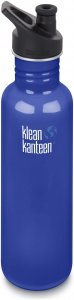 Klean Kanteen Classic Sport Cap 3.0 - Trinkflasche - blau
