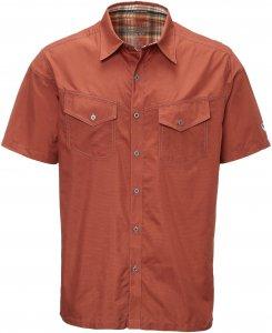 Kühl Stealth S/S Shirt Männer Gr. S - Outdoor Hemd - rotbraun