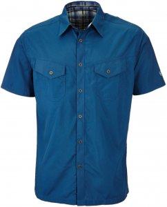 Kühl Stealth S/S Shirt Männer Gr. XL - Outdoor Hemd - blau
