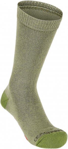 Craghoppers Nosilife Travel Socks Kids Single Dark Khaki, Gr. 29-35