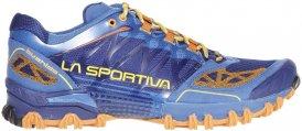 La Sportiva Bushido Männer Gr. 42 - Trailrunningschuhe - blau|orange