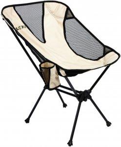 Leki Breeze - Campingstuhl - beige-sand grau - Faltstuhl