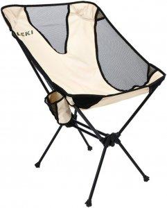Leki Chiller - Campingstuhl - beige-sand grau - Faltstuhl