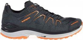 Lowa Innox Evo Lo Männer Gr. 8½ - Nordic Walking Schuhe - grau|orange