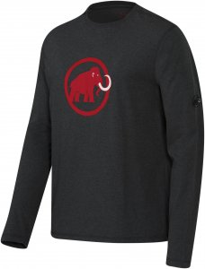Mammut Mammut Logo Longsleeve Männer Gr. M - Langarmshirt - schwarz