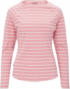 Mammut Wall Longsleeve Frauen Gr. XL - Langarmshirt - pink-rosa