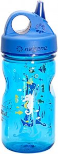 Nalgene Grip-n-Gulp Kinder - Trinkflasche - blau