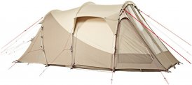 Nomad Dogon 3 (+1) Air - Familienzelt - beige-sand weiß / twill - Sommerzelt - für 3 - 4 Personen