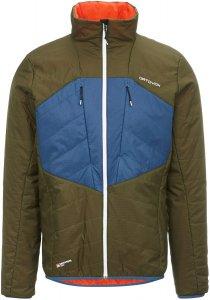 Ortovox Swisswool Dufour Jacket Männer Gr. M - Übergangsjacke - oliv-dunkelgrün