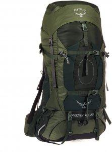 Osprey Aether AG 60 - Trekkingrucksack - Gr. L - oliv-dunkelgrün / adirondack green