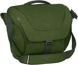 Osprey Flap Jack Courier - Umhängetasche - grün / peat green