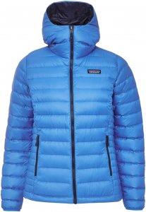 Patagonia Down Sweater Hoody Frauen Gr. M - Daunenjacke - blau