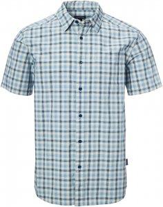 Patagonia Fezzman Shirt Männer Gr. S - Outdoor Hemd - blau