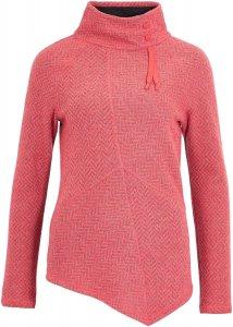 Prana Mattea Sweater Frauen Gr. XL - Fleecepullover - pink-rosa grau