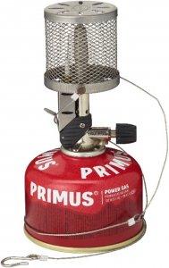 Primus Micron Laterne - Edelstahlgitter - Laterne - grau