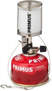 Primus Micron Laterne - Glas - Laterne - grau weiß
