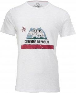 Red Chili Repu T-Shirt Männer Gr. S - T-Shirt - weiß