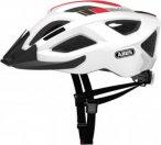 Abus ADURO 2.0 - Fahrradhelm - weiß|schwarz