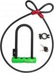 Abus Ultra HB 230 + Cobra 10/120 - Fahrradschloss - schwarz|grün