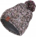 Buff Knitted & Polar Hat Buff Margo Unisex Gr. uni - Mütze - grau|pink-rosa