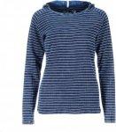 Chillaz Bergamo Denim Frauen Gr. 34 - Kapuzenpullover - blau|weiß