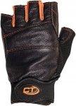 Climbing Technology Progrip Ferrata Glove half fingers - Kletterhandschuhe - sch