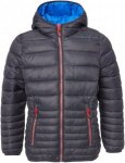 CMP Fix Hood Down Optic Jacket Kinder Gr. 128 - Übergangsjacke - schwarz