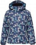 CMP Snaps Hood Jacket Printed Kinder Gr. 104 - Winterjacke - blau