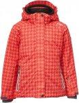 CMP Snaps Hood Jacket Printed Kinder Gr. 98 - Winterjacke - rot