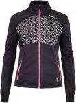 Craft Challenger Jacket Frauen Gr. XL - Softshelljacke - schwarz|pink-rosa