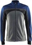 Craft Challenger Jacket Männer Gr. S - Softshelljacke - grau|blau