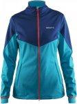 Craft Voyage Jacket Frauen - Softshelljacke - blau|petrol-türkis