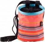 Edelrid CHALK BAG ROCKET LADY - Chalkbag - pink-rosa|petrol-türkis