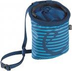 Edelrid CHALK BAG ROCKET TWIST Gr.ONESIZE - Chalkbag - blau