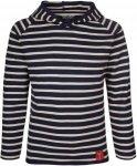 Elkline CREW Kinder Gr. 140-146 - Langarmshirt - blau|weiß