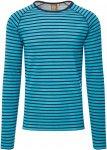 Elkline Ringer Sweater Männer Gr. S - Sweatshirt - petrol-türkis|schwarz