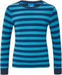 Finkid RULLA Kinder Gr. 90-100 - Langarmshirt - blau|petrol-türkis