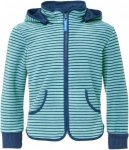 Finkid Tonttu Striped Kinder Gr. 130/140 - Fleecejacke - blau