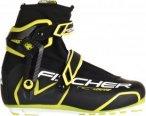 Fischer RC7 Skate Unisex - Langlaufschuhe - schwarz|gelb