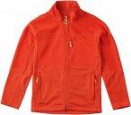 Fjällräven Abisko Trail Fleece Kinder Gr. 128 - Fleecejacke - rot|orange