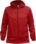 Fjällräven Abiskoindbreaker Jacket Frauen Gr. S - Windbreaker - rot