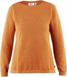 Fjällräven High Coast Knit Sweater Frauen Gr. XXXL - Sweatshirt - orange