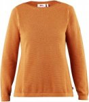 Fjällräven High Coast Knit Sweater Frauen Gr. XXXL - Sweatshirt - orange