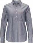 Fjällräven Kiruna Shirt L/S Frauen Gr. XS - Outdoor Bluse - blau