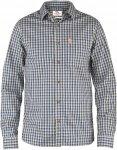 Fjällräven Kiruna Shirt L/S Männer Gr. XS - Outdoor Hemd - blau
