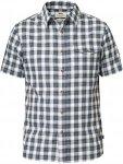 Fjällräven Singi Shirt SS Männer Gr. S - Outdoor Hemd - blau