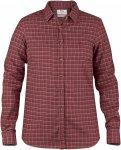 Fjällräven Sörmland Flannel L/S Shirt Frauen Gr. M - Outdoor Bluse - rotbraun